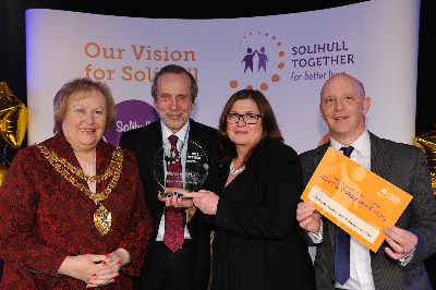 Collaborative Working Award - The Solihull Partnership Winter Warmth Campaign