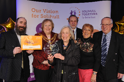 Outstanding Project Delivered in the Community Joint Winner The Thursday Club Solihull
